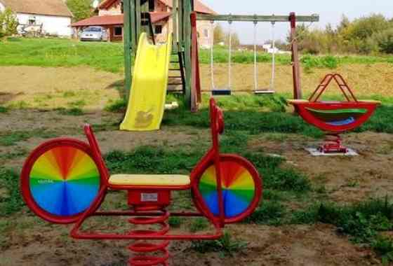 Uređeno dječje igralište u Kaniškoj Ivi